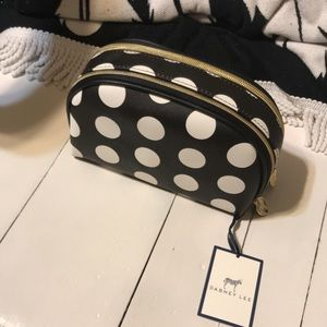 New! Dabney Lee Poka Dot Makeup Bag
